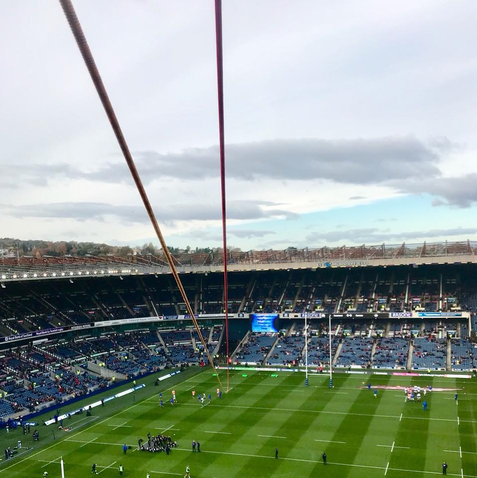zip line over twickenham delivered by inaccessible solutions