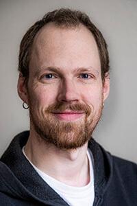 Portrait von der Gottwald-Partner für Livesound am Set Lukas Lücke.