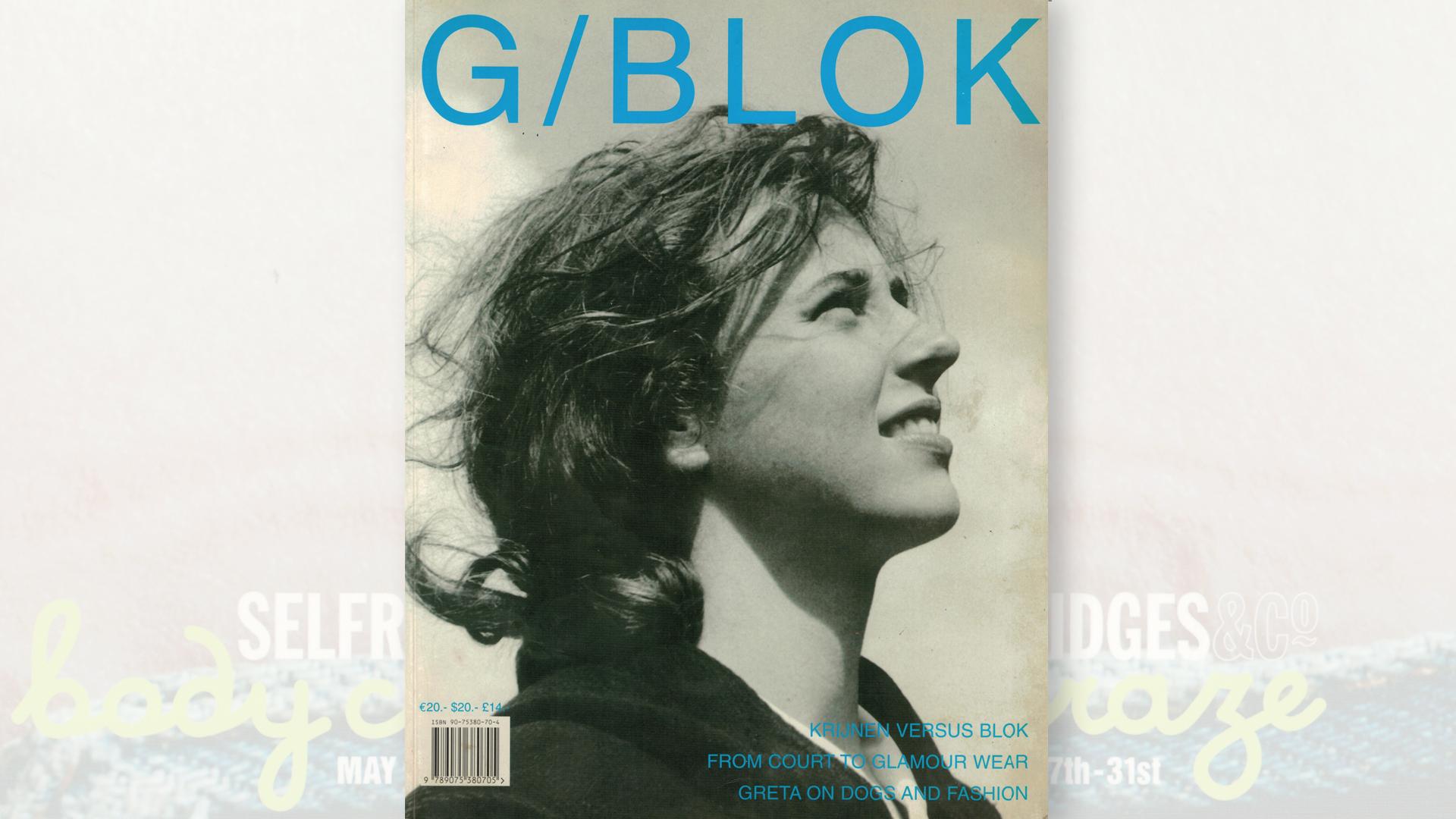 boekomslag G/BLOK