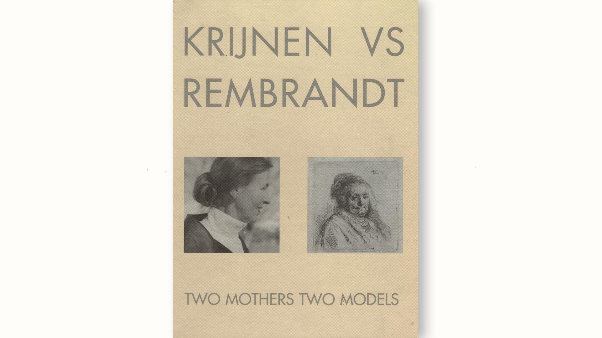 boekomslag krijnen vs rembrandt