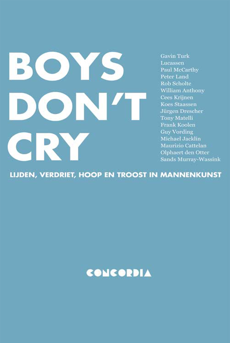 boekomslag Boys don't cry