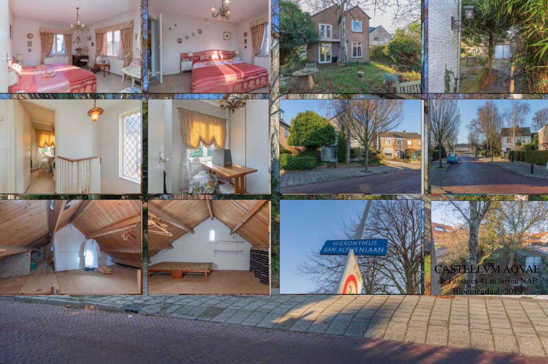 foto collage inrichting ouderlijk huis