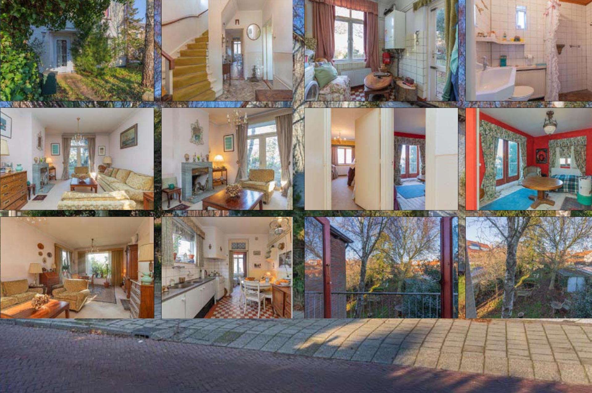 collage van inlichtingen ouderlijk huis