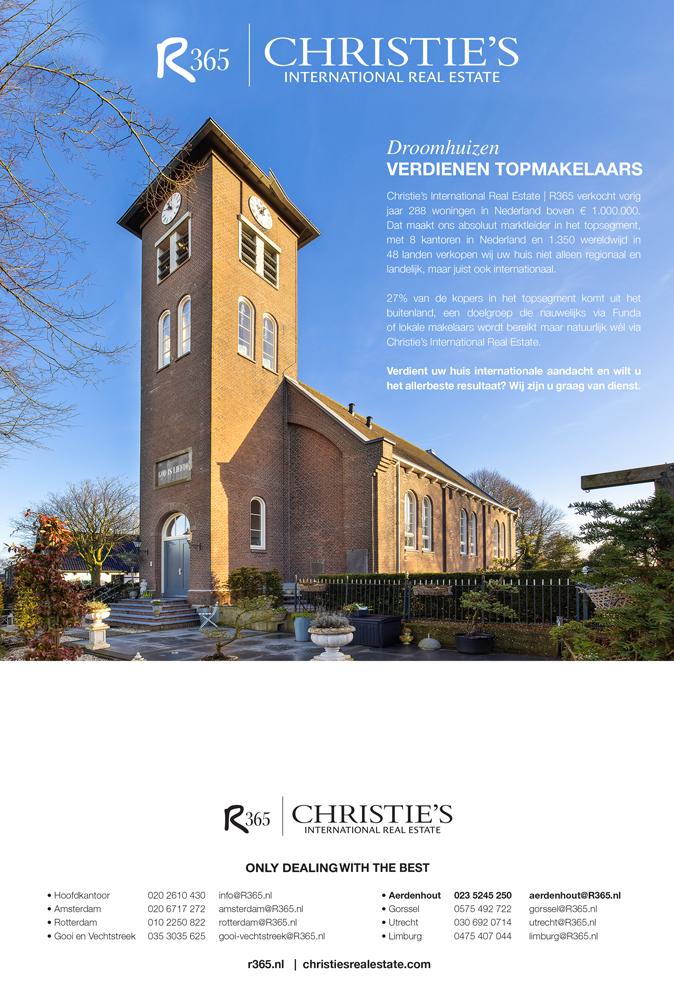 advertentie R365 Christie's Makelaars