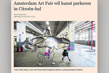 artikel over Art Amsterdam