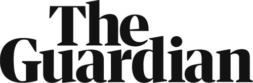 Logo The Guardian krant