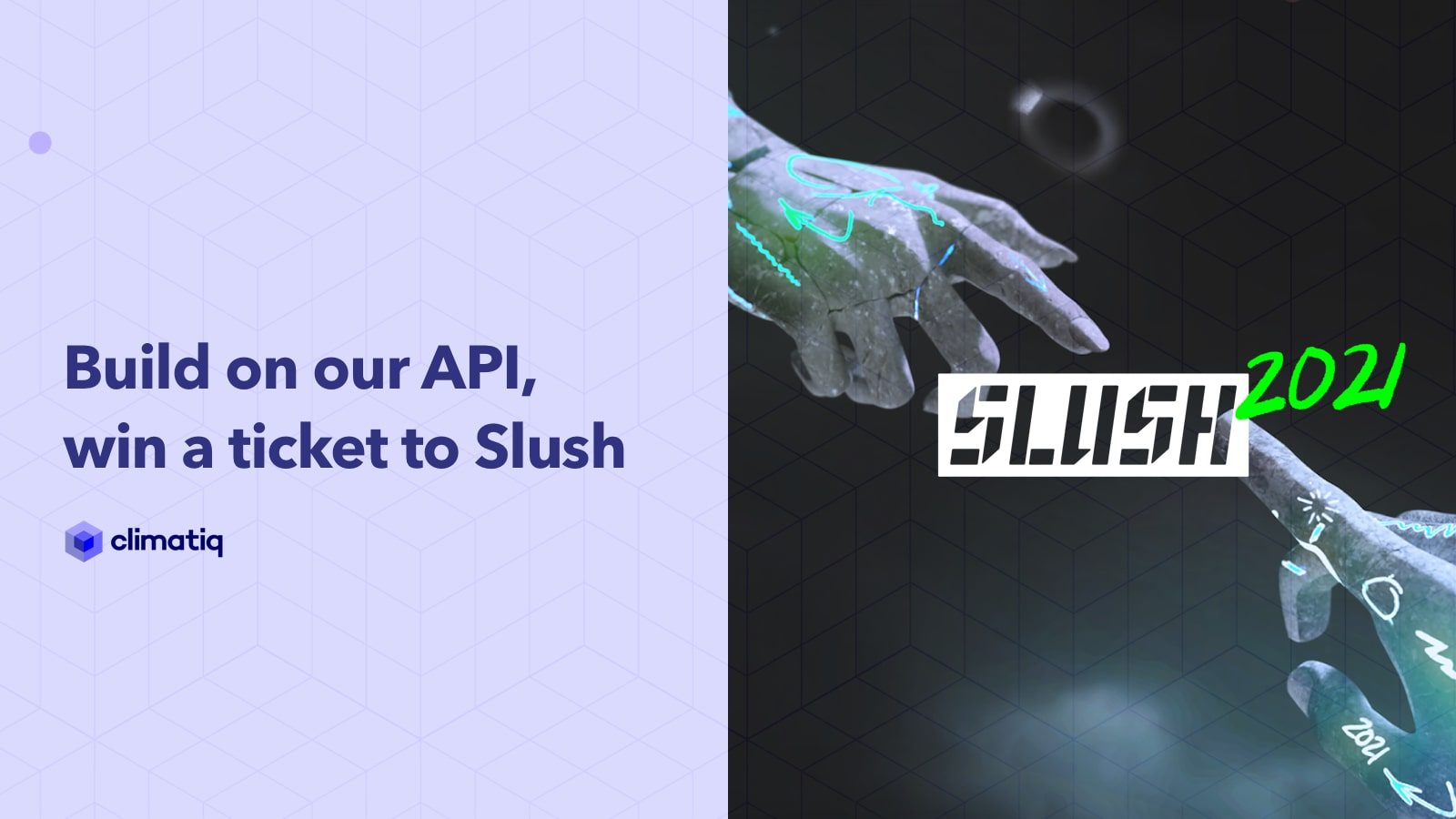 Build on our API, Win a Ticket to Slush
