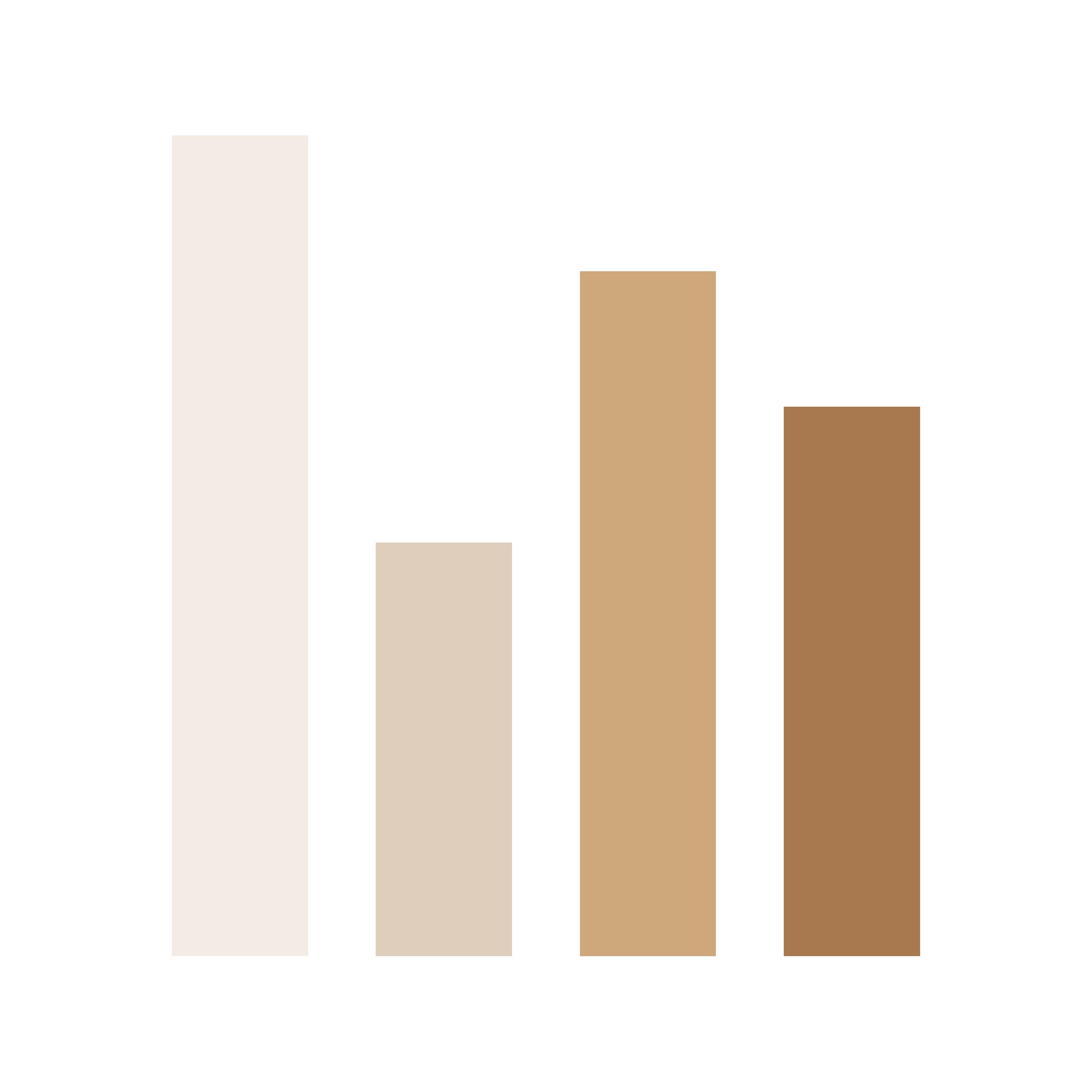 Live statistics and KPI analysis icon