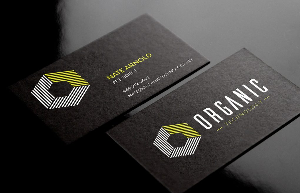 Organic Technology Business Cards