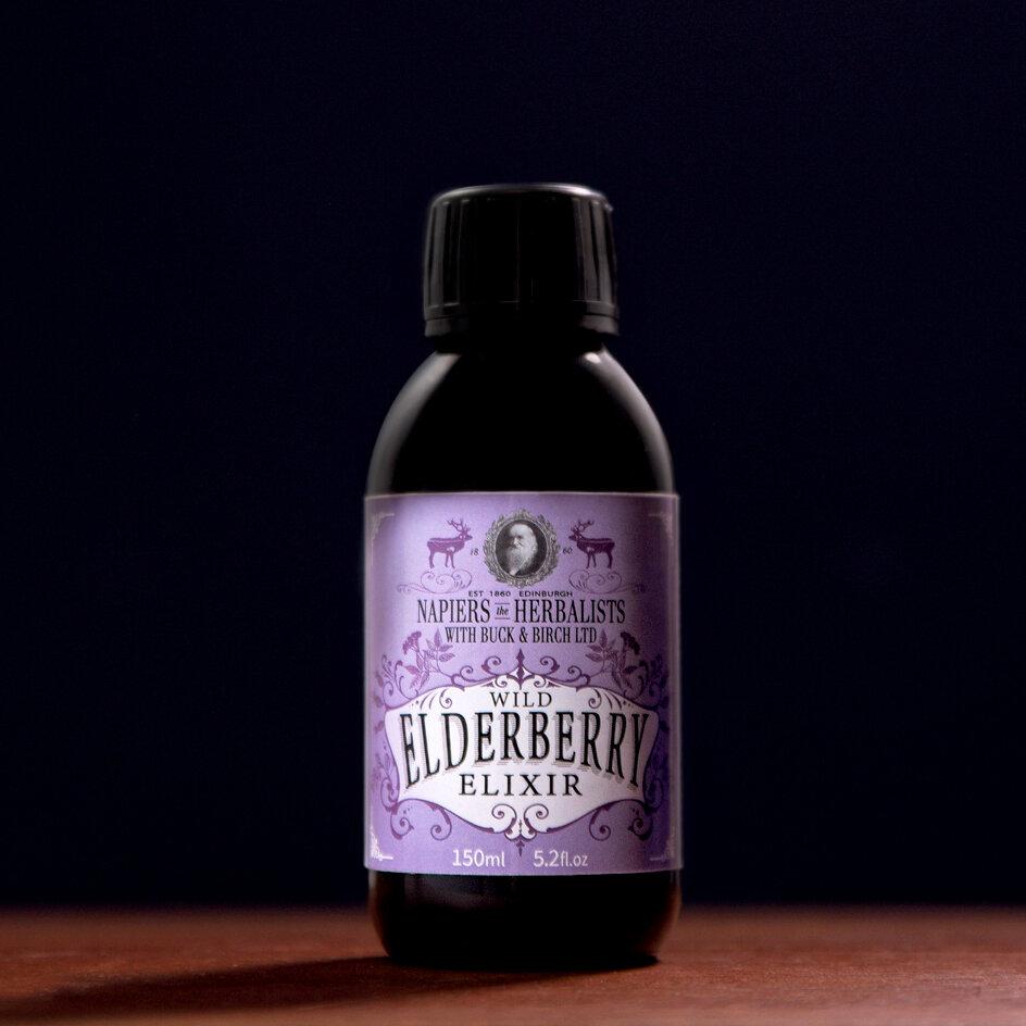 Wild Elderberry Elixir by Buck and Birch