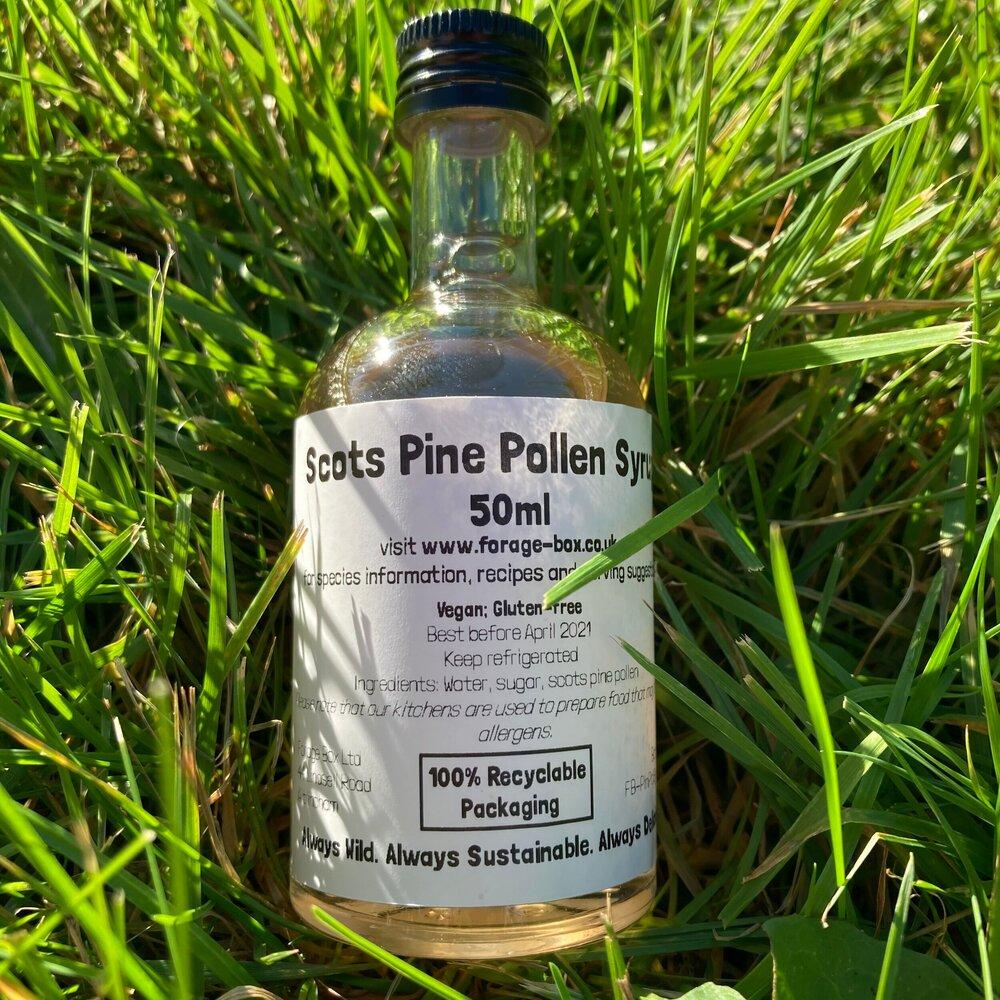 Pine Pollen Syrup