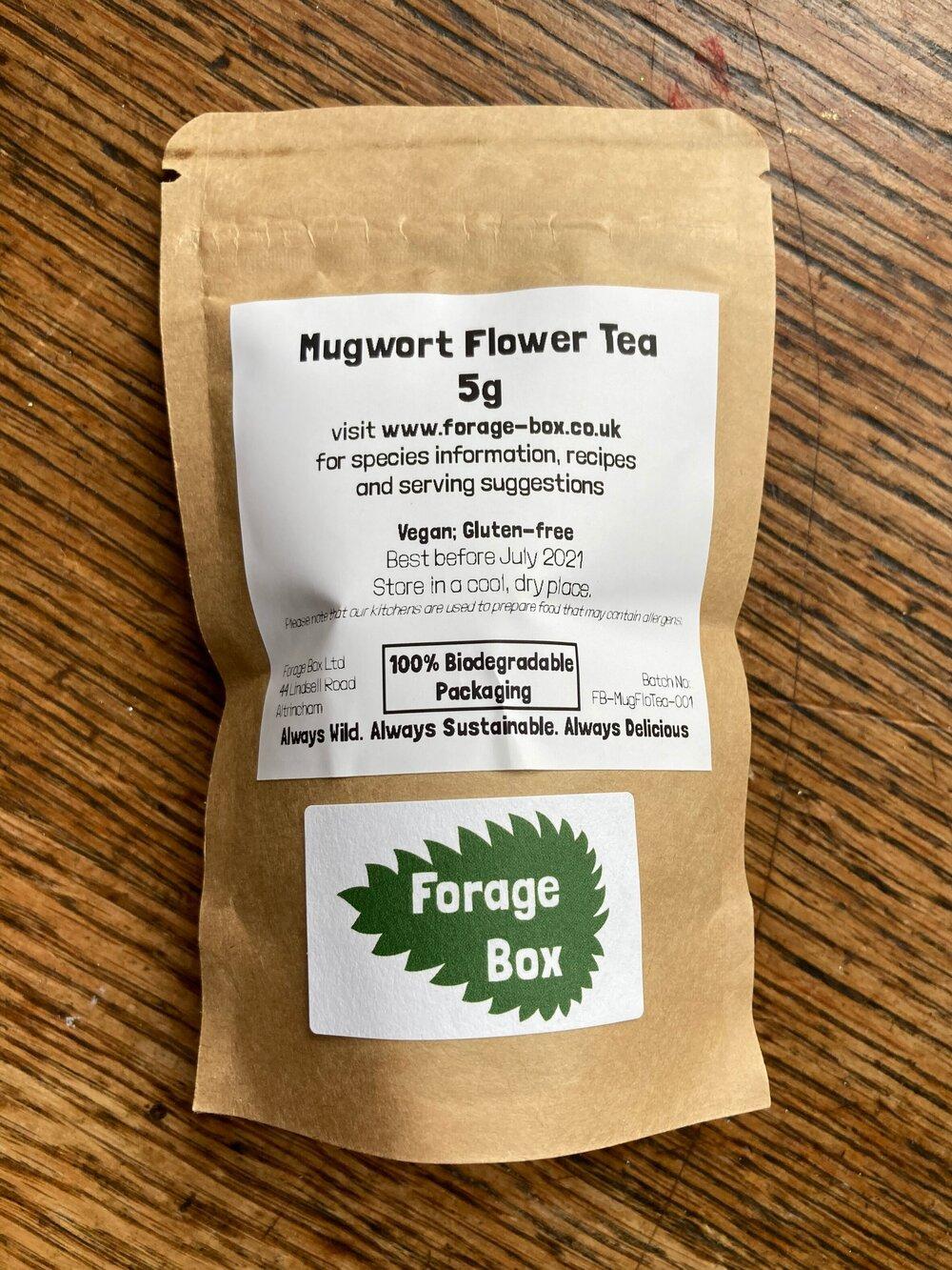 Mugwort Flower Tea
