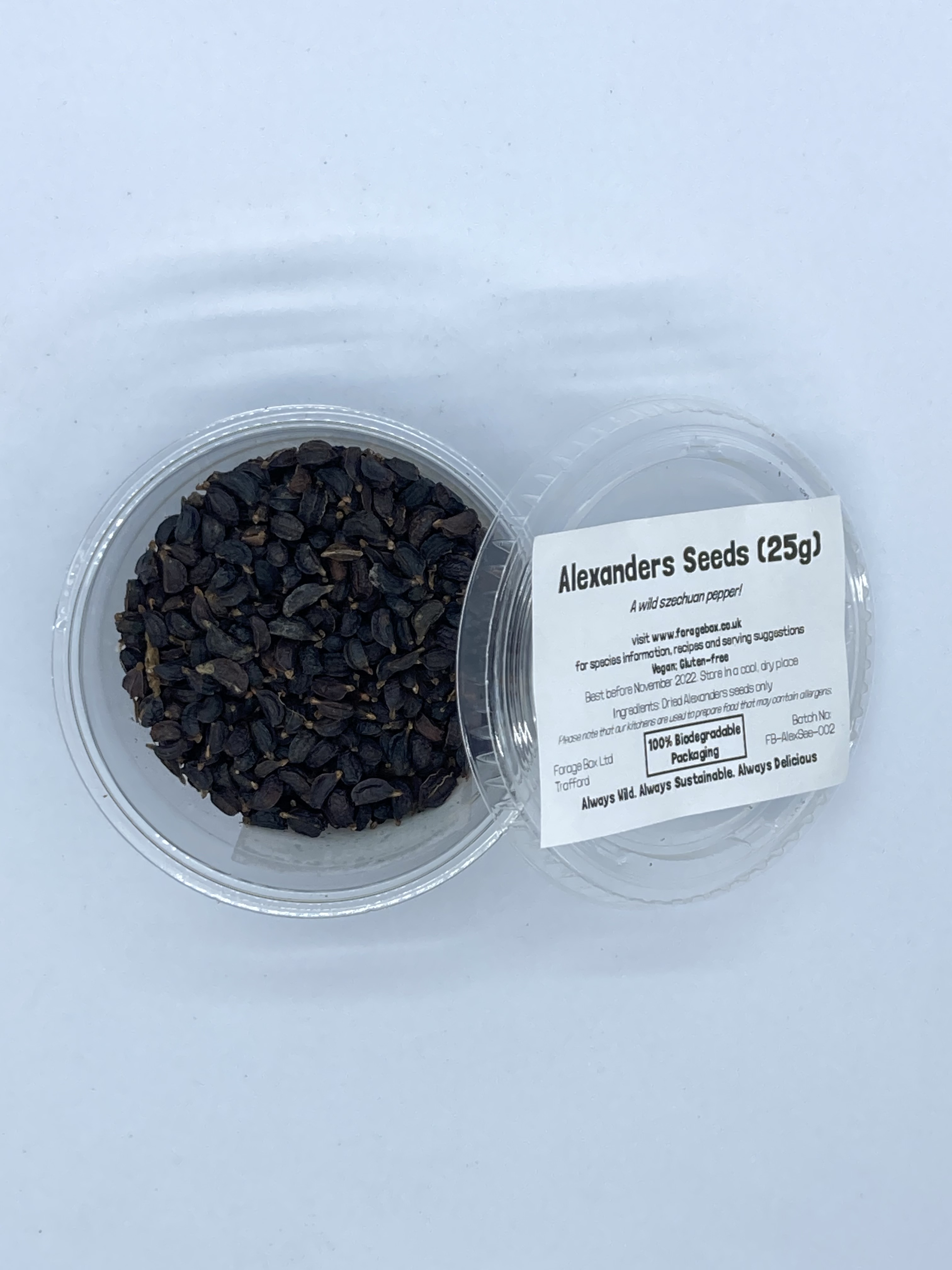 Dried Alexanders Seeds