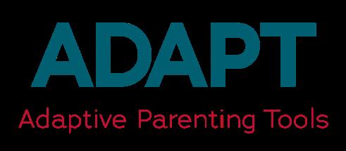 Logo: ADAPT: Adaptive Parenting Tools.