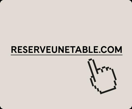 Lien reserveunetable.com