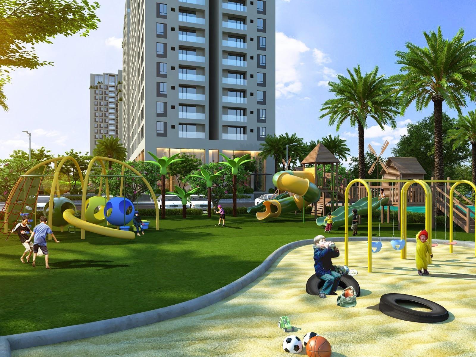 Khu vui chơi cho trẻ tại Vinhomes Wonder Park