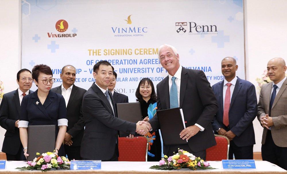 Phòng khám Vinmec hợp tác với những đối tác nước ngoài