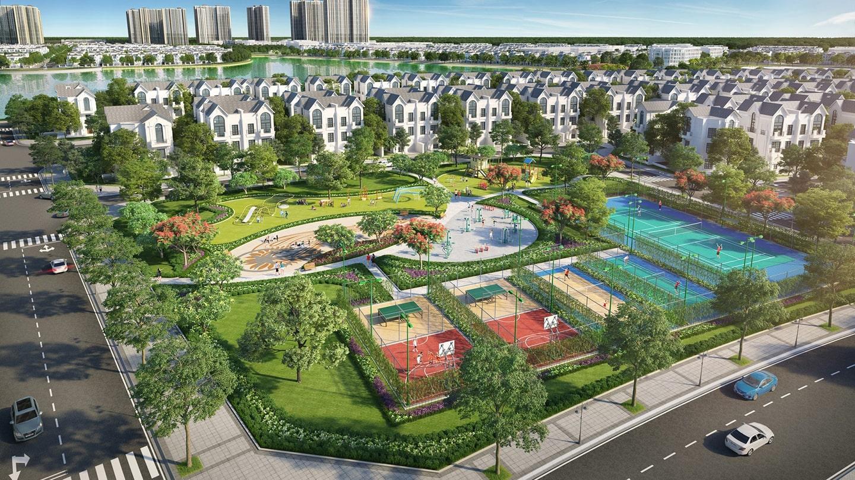 Không gian sống xanh tại Vinhomes Wonder Park