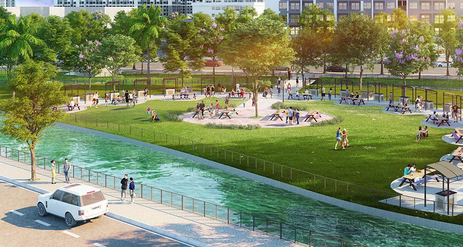 Tiện ích dự án Vinhomes Wonder Park Đan Phượng
