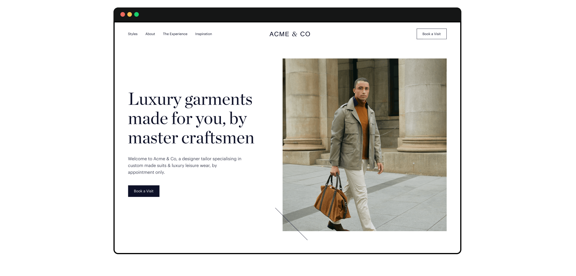 Image of a well built website which represents working with Relume