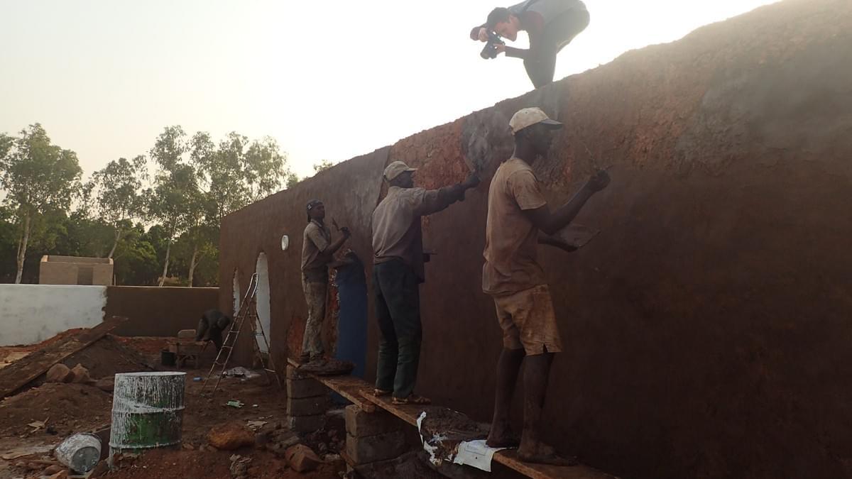 Earth Architecture-Kabakoo - Nubian Vault - Bamako - Mali