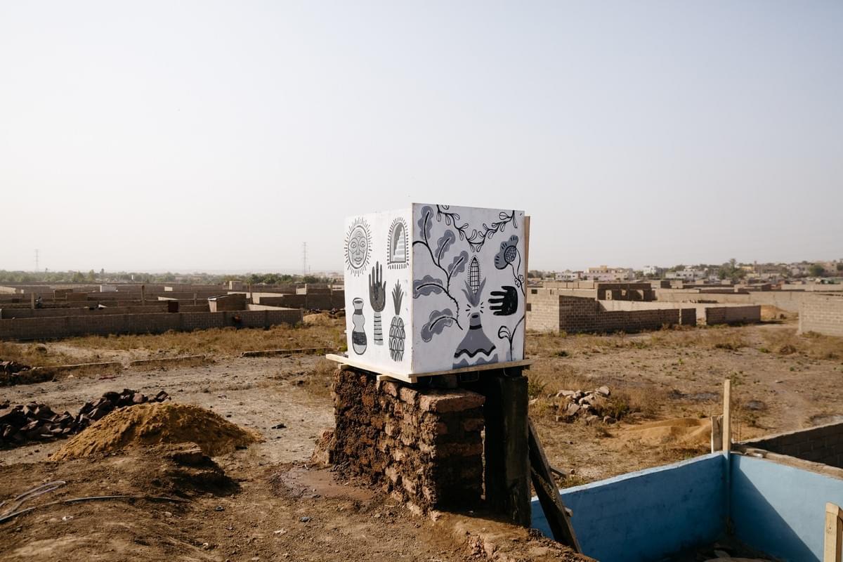 Denis Faneites_Kabakoo_Mali_Bamako_Art_Water Tank