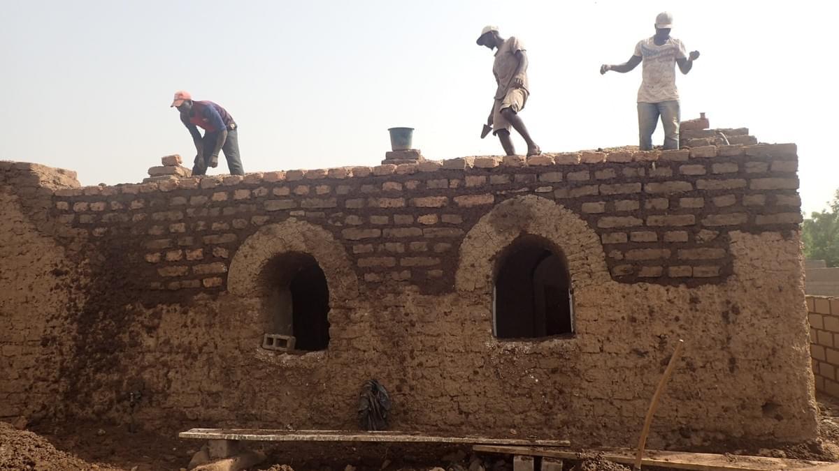 Architecture-Kabakoo - Nubian Vault - Bamako - Mali