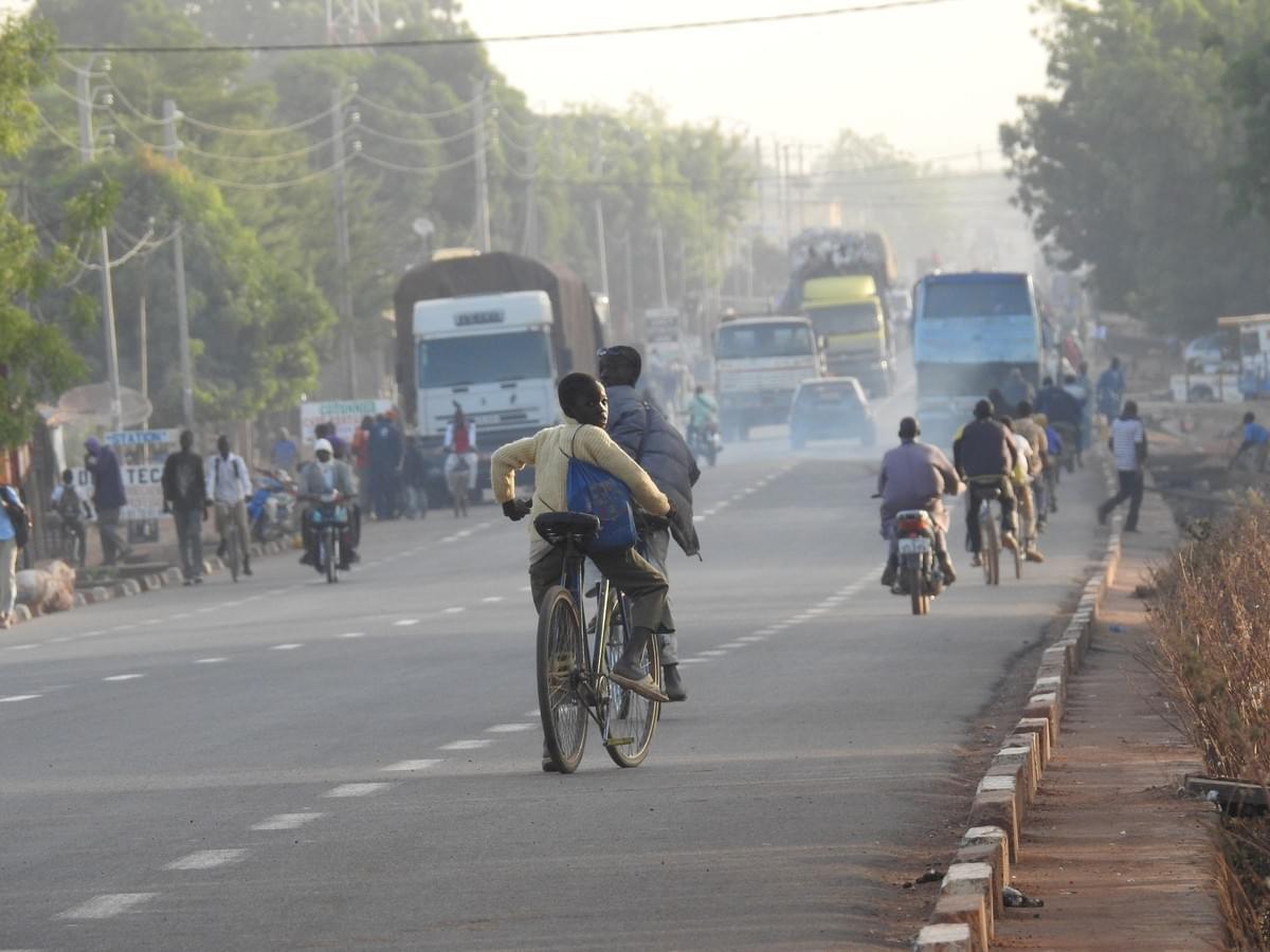 Kabakoo-Bamako-Air quality-Pollution