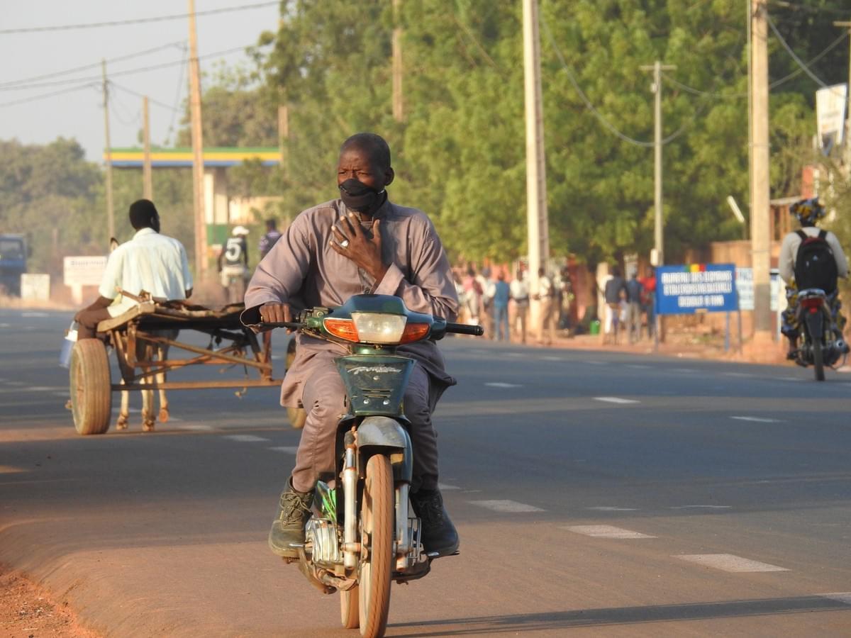 Kabakoo-Bamako-Air quality-Pollution-Mask