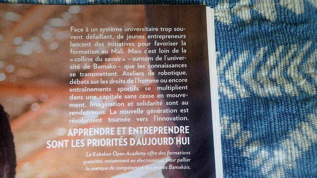 Kabakoo Bamako Mali Paris Match