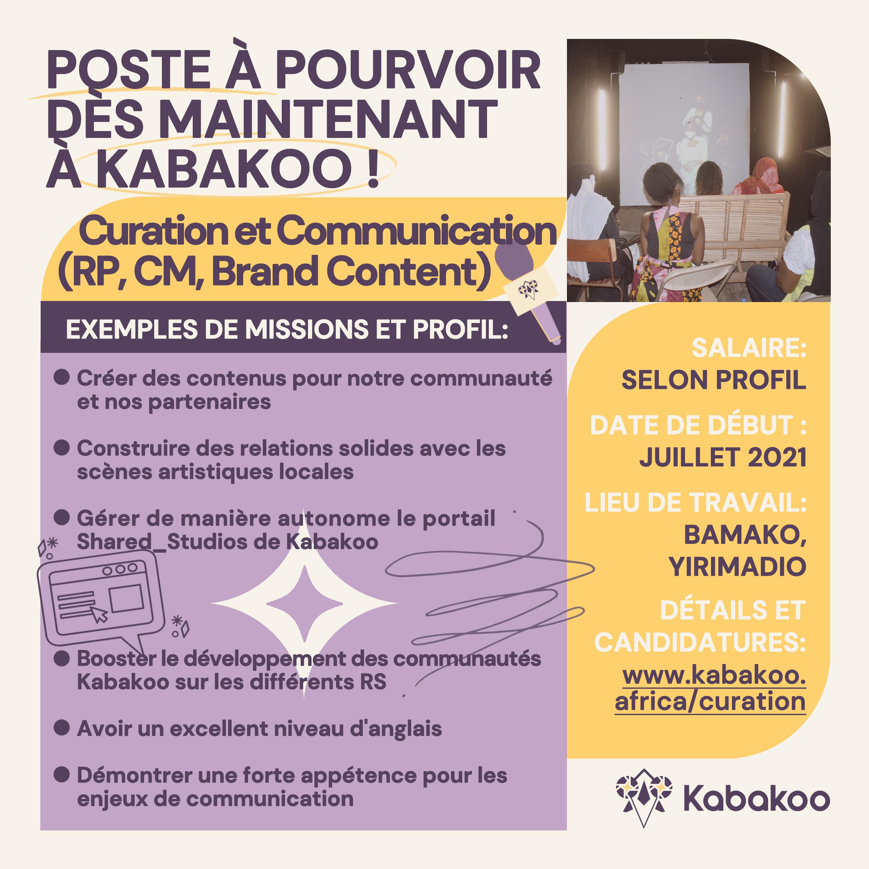 Kabakoo_Recrutement_Curation_Communiation