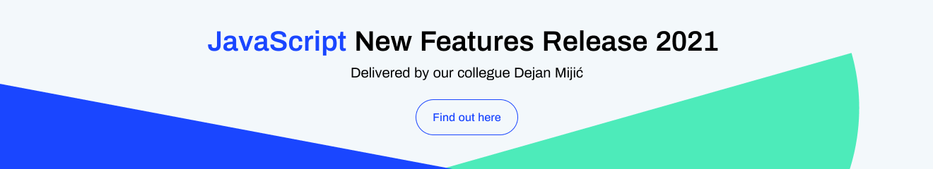 JavaScript New Features Banner