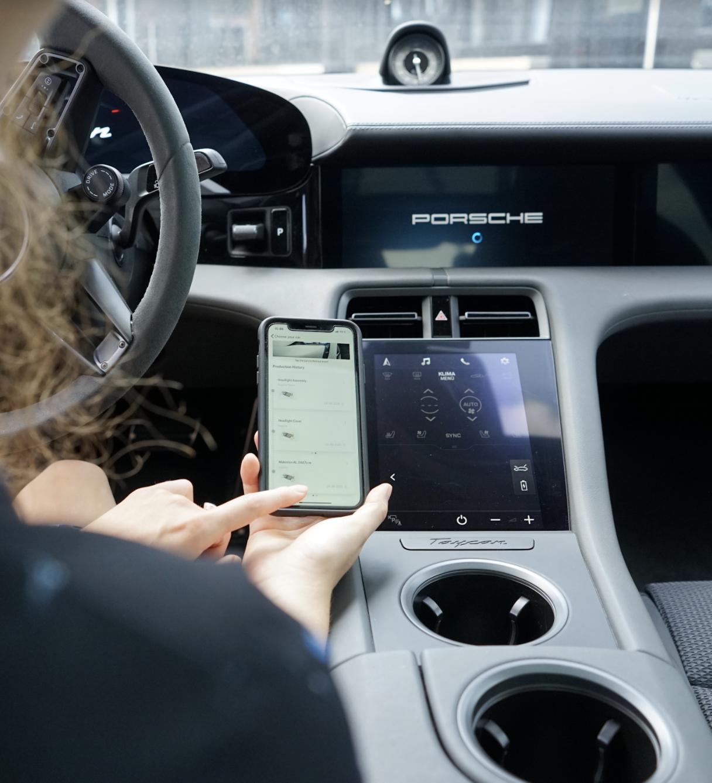 Use of Circularise App for Porsche