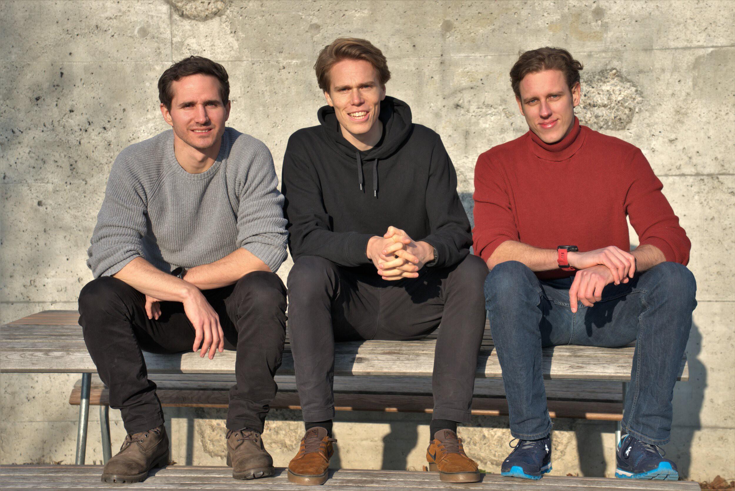 L-R: Martin Eichenhofer, Chester Houwink, Giovanni Cavolina.