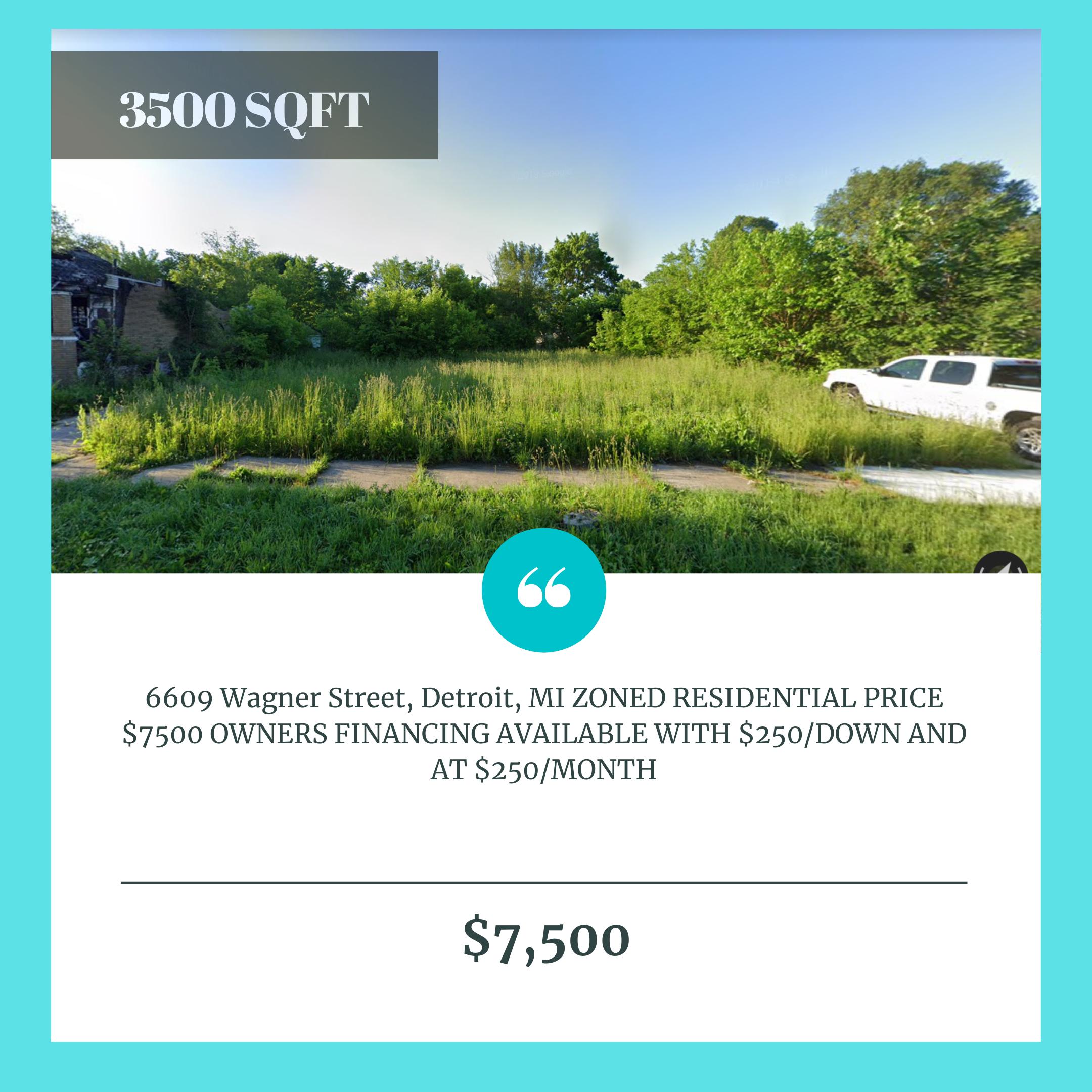 6609 Wagner Street, Detroit, MI