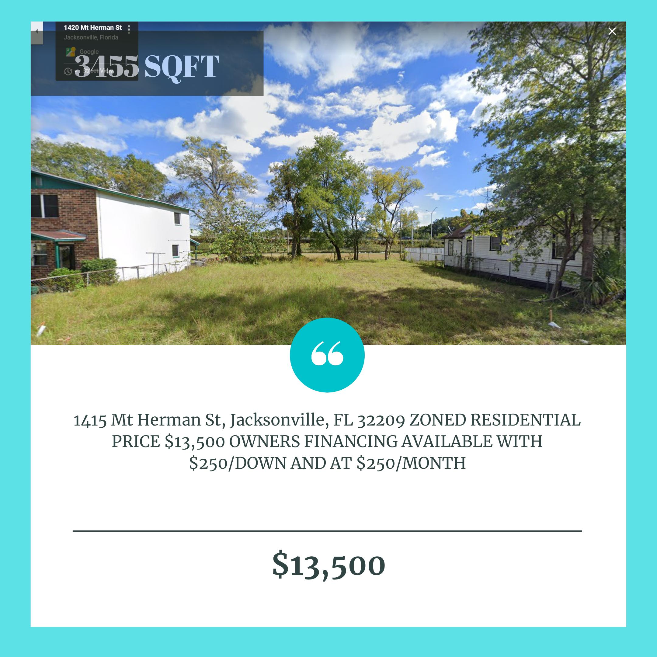 1415 Mt Herman St, Jacksonville FL 32209
