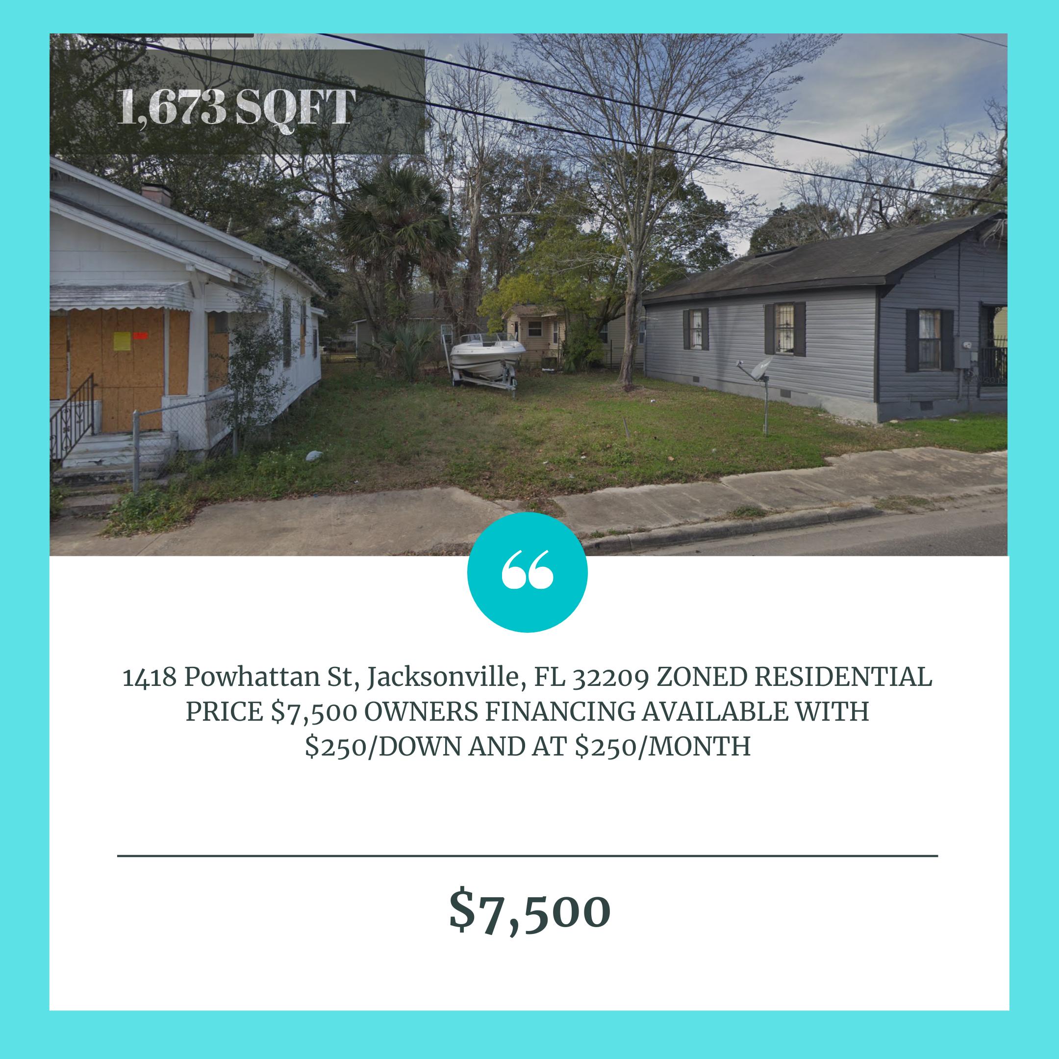 1418 Powhattan St, Jacksonville FL 32209
