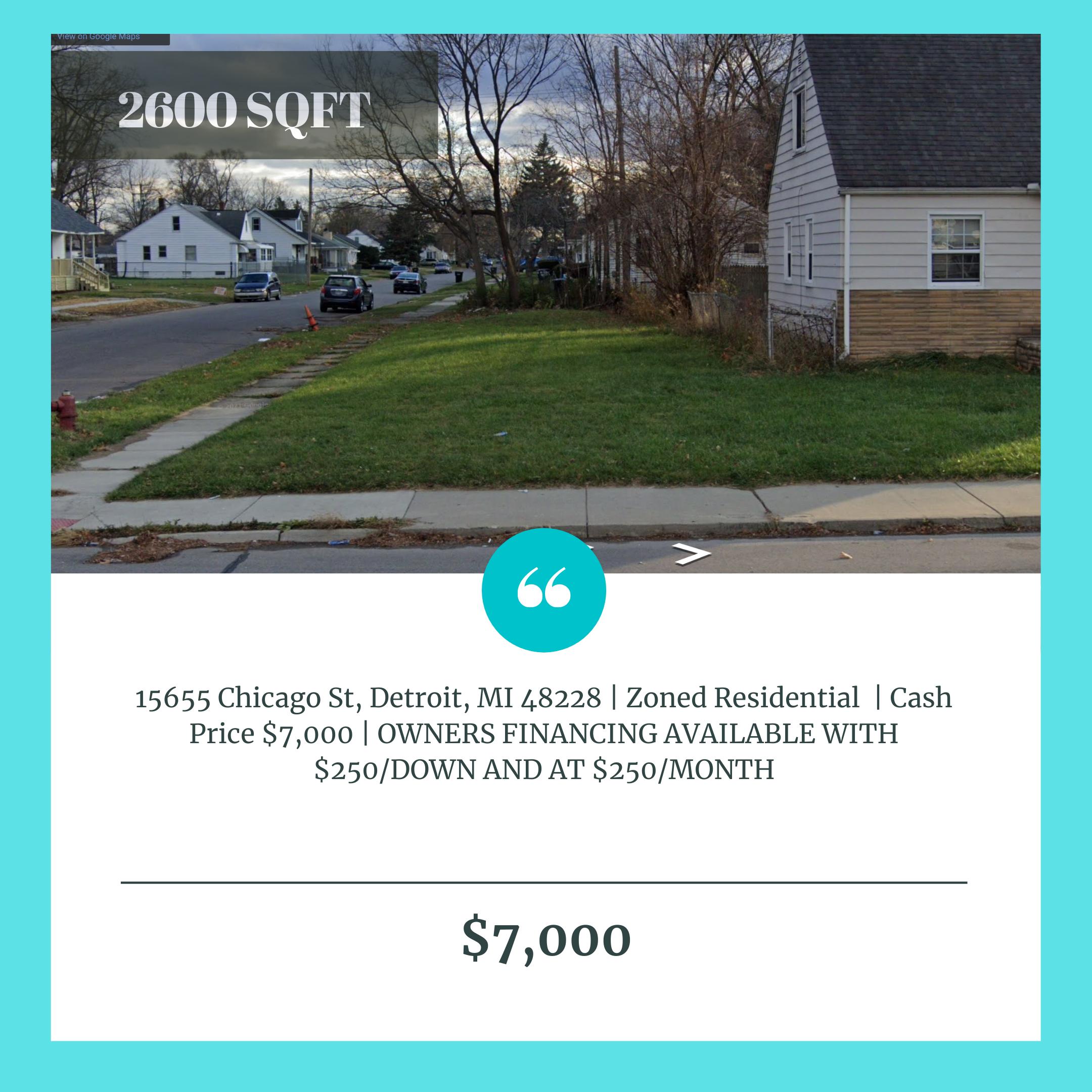15655 Chicago St, Detroit, MI 48228