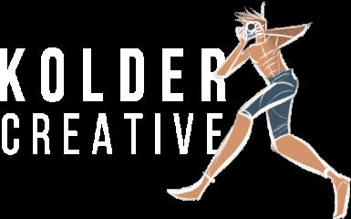 Logo of Kolder Creative - the OFFICIAL filmmaking course & community by Sam Kolder.