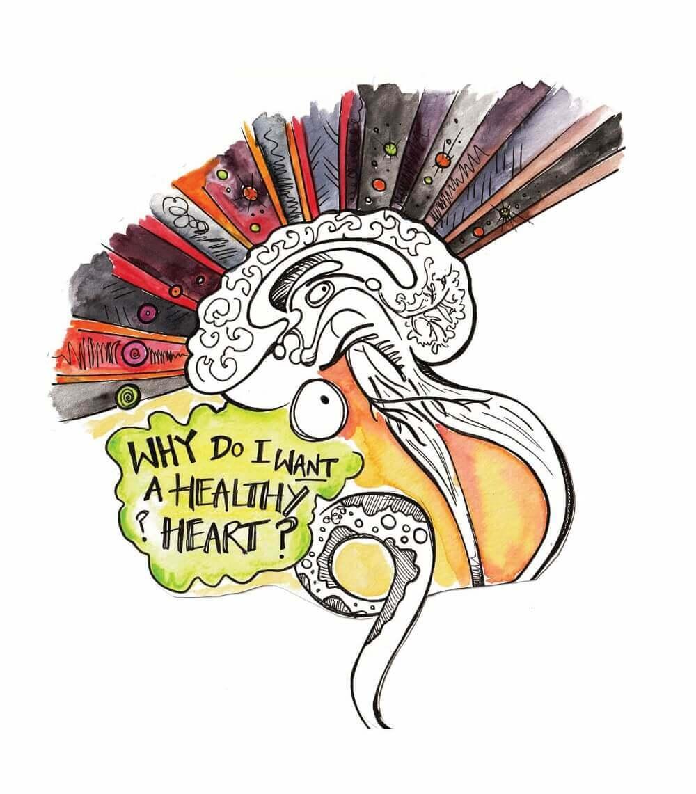 Healthy Heart Brain