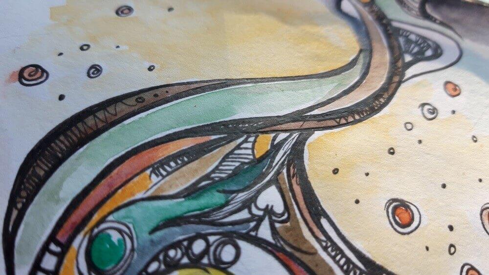 William Blake close up