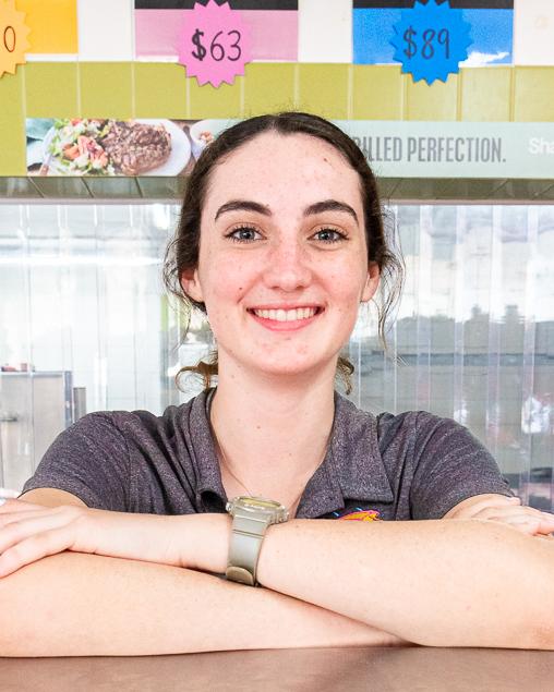 Brooke Junior Shop Assistant