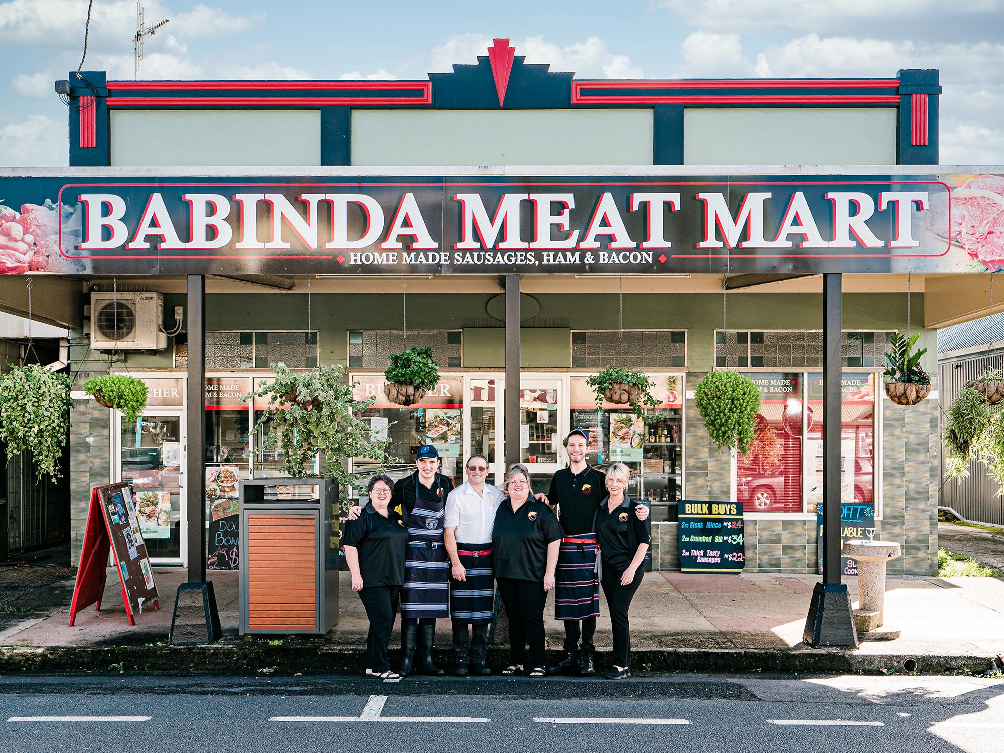 Babinda Meat Mart Brand Image