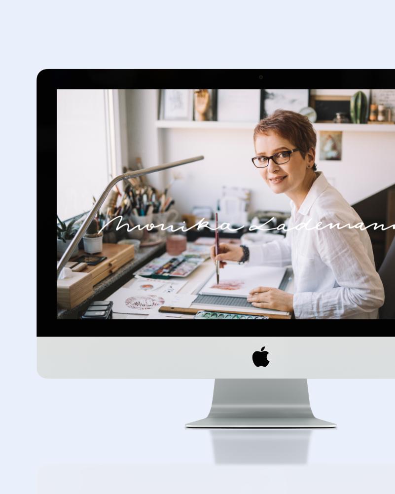 Website Monika Lademann