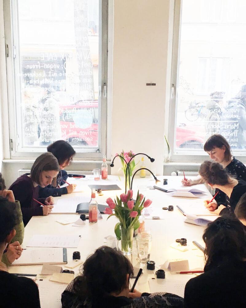 Ana Luiza Calligraphy Workshop