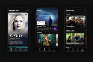 Quibi video streaming app screenshots
