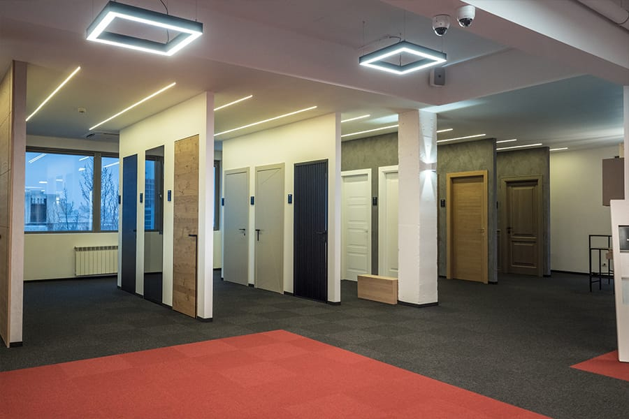 Най-големият дизайн център за врати - мостри интериорни врати Garofoli