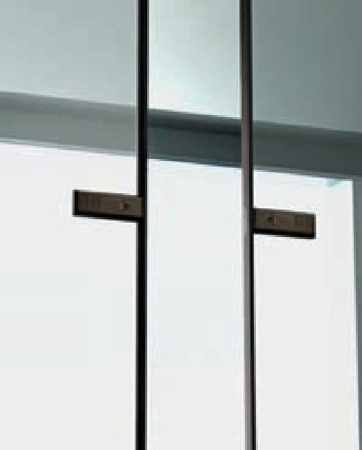 интериорна врата Garofoli - стъклена плъзгаща