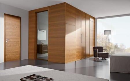 Интериорен проект с интериорни врати Garofoli и Gidea с дървесен декор