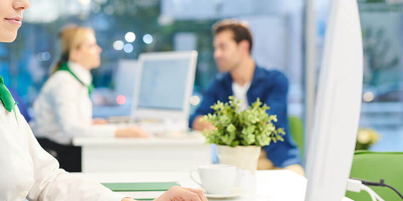 Wymiana materiałów w placówkach banku i dystrybucja odpowiedniej ilości druku do poszczególnych placówek